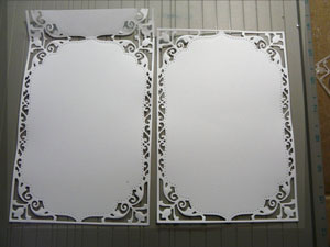 Tutoriel carte de Mariage avec matrices Spellbinders