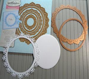 Spellbinders Nestabilities Oval Floral