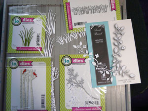 Matrices de découpes Memory Box et Impression Obsession