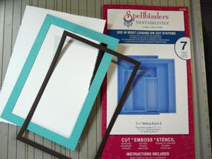 Découpe de cadres (frames) avec Spellbinders