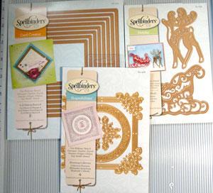 Spellbinders card creator, blooming, sleight