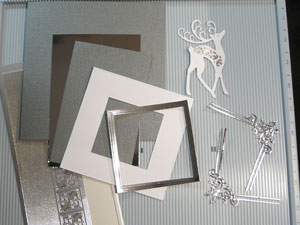Carte de Noël avec matrices Spellbinders