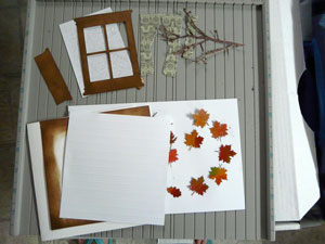 carte automne tutoriel
