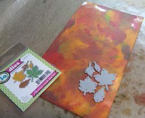 projet scrapbooking automne