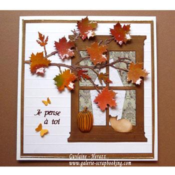 Tutoriel carte automne