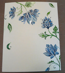 Carte Altenew aquarelle ou watercolor