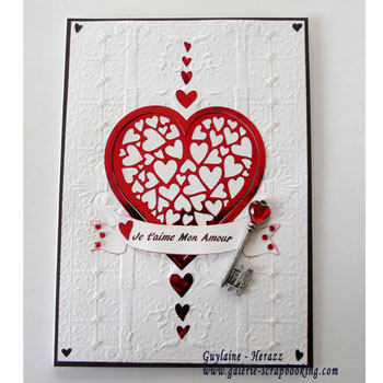 Carte Saint-Valentin Tutoriel Mini Minc