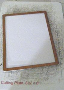 Spellbinders rectangle et Neenah 110lb