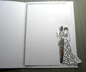 intérieur carte de mariage