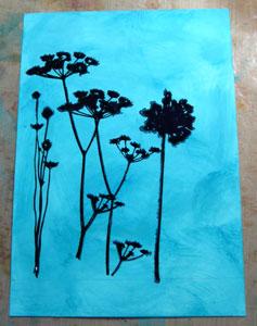 Étampe Wildflowers de Tim Holtz