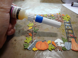 Bouchon de précision pour bouteille de colle