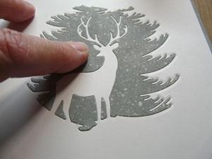 Matrice Memory Box Evergreen reinder