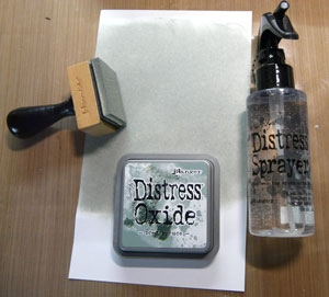 Distress sprayer