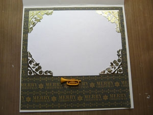 Intérieur de carte de souhaits