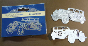 Tattered lace Streamliner  Auto antique