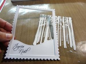 Montage carte 3D avec acétate