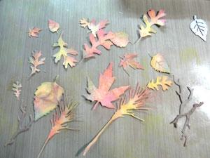 Feuille d'automne Sizzix