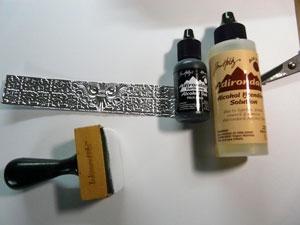 Alcohol ink et blending solution