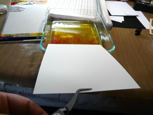 technique Alcool Ink ou Alcohol Ink