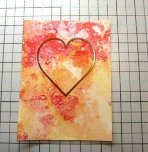 Matrice de découpes Coeur