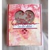 Tutoriel Carte St-Valentin - Technique Alcohol ink