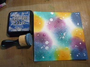Distress Resist Spray, encre distress Fade Jean