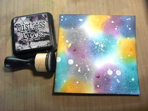 Distress Resist Spray, encre distress Black Soot