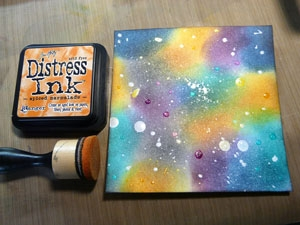 Distress Resist Spray, encre distress Spice Marmalade