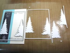 Memory Box Cascade evergreen Frame