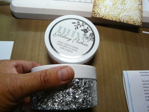 Nuvo Gilding flakes Or, Argent, Cuivre