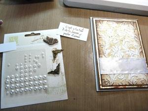 perles, boutons et embellissements scrapbooking