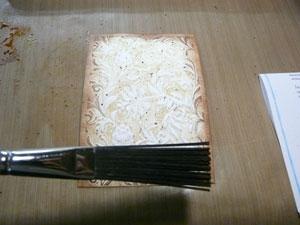 Encrage de papier