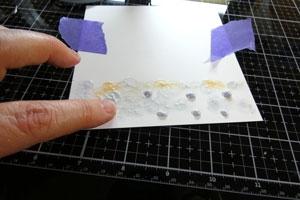 Technique fond de carte