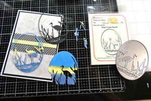 Technique et tutoriel de carte scrapbooking