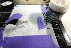 Texture paste matte
