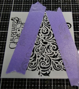Stencil et texture paste