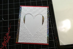 Tutoriel de carte avec coeur