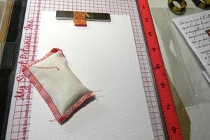Embossage et pochette anti static