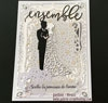 Tutoriel carte de mariage Deco Foil Metallix gel