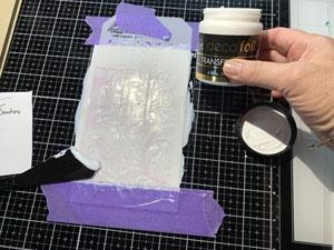 Deco Foil Transfert Gel
