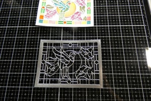 tutoriel carte faux vitrail