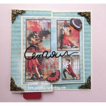 Ciao Bella Tango - Carte de St-Valentin