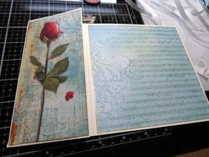montage carte st valentin