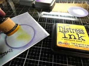 Tutoriel Distress oxide ink