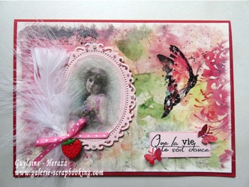 Tutoriel Papier de riz LTD Collection