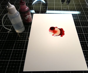 Tutoriel Alcohol ink