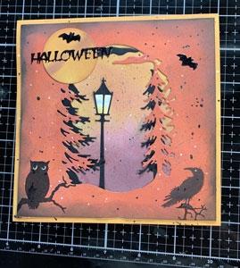 Présentation tutoriel Carte halloween