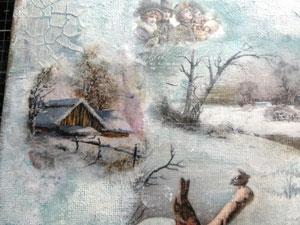 Tutoriel d'un canvas avec papier de riz