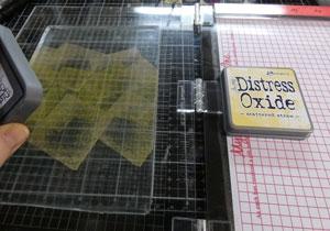 Distress oxide et gel press