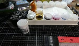 palette de peinture lavinia
